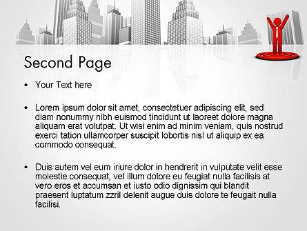 Business Winner PowerPoint Template, Slide 2, 12998, Business Concepts — PoweredTemplate.com