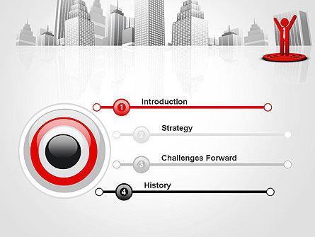 Business Winner PowerPoint Template, Slide 3, 12998, Business Concepts — PoweredTemplate.com