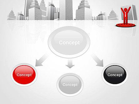 Business Winner PowerPoint Template, Slide 4, 12998, Business Concepts — PoweredTemplate.com