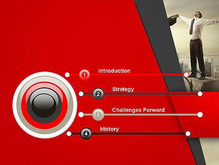 Pinnacle of Success PowerPoint Template Slide 3