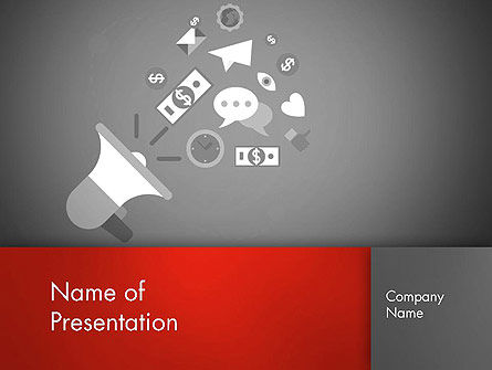 Promotion Concept PowerPoint Template, 13003, Careers/Industry — PoweredTemplate.com