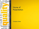 Business Concepts: Quality Word Cloud PowerPoint Template #13004