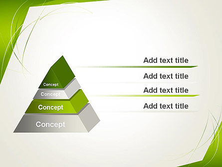 Abstract Green Paper Frame PowerPoint Template Slide 12