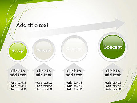 Abstract Green Paper Frame PowerPoint Template Slide 13