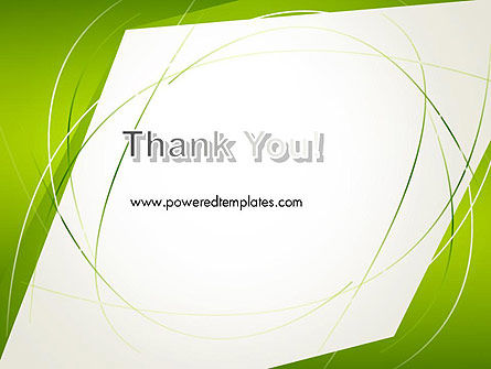 Abstract Green Paper Frame PowerPoint Template Slide 20