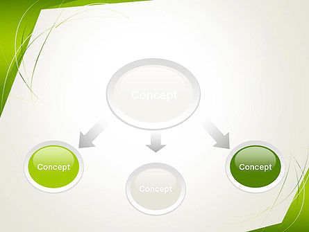 Abstract Green Paper Frame PowerPoint Template Slide 4