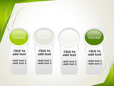 Abstract Green Paper Frame PowerPoint Template Slide 5