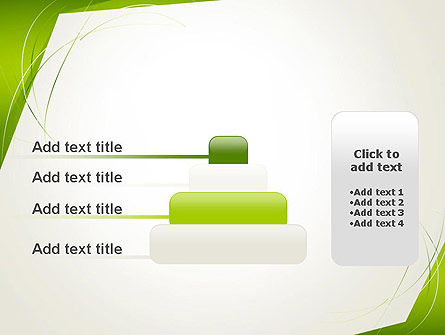 Abstract Green Paper Frame PowerPoint Template Slide 8