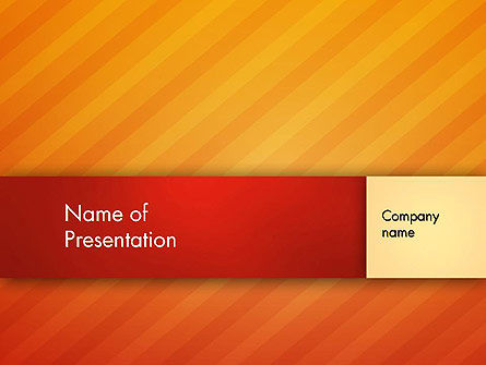 Abstract/Textures: Abstract Diagonal Orange Lines PowerPoint Template #13006
