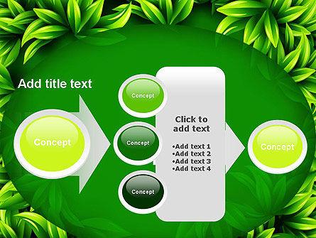 Green Leaves Frame PowerPoint Template Slide 17