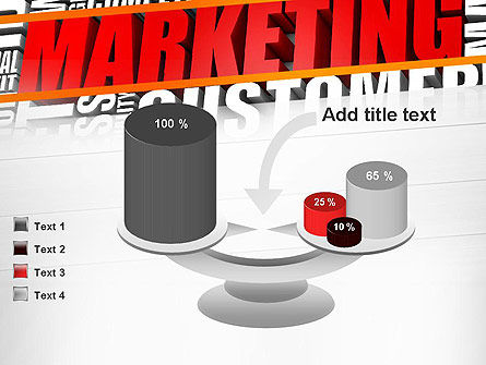 Marketing Word Cloud PowerPoint Template Slide 10