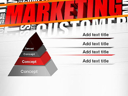 Marketing Word Cloud PowerPoint Template Slide 12