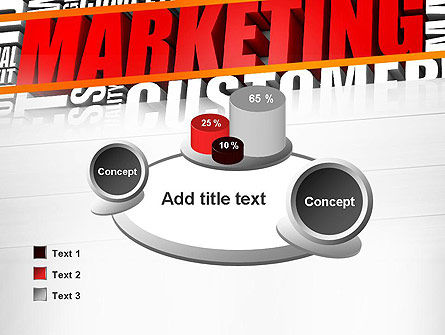 Marketing Word Cloud PowerPoint Template Slide 16