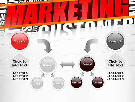 Marketing Word Cloud PowerPoint Template Slide 19