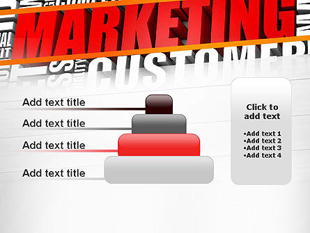 Marketing Word Cloud PowerPoint Template Slide 8