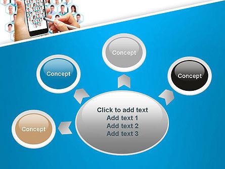 Creating Business Network Presentation Template Slide 7