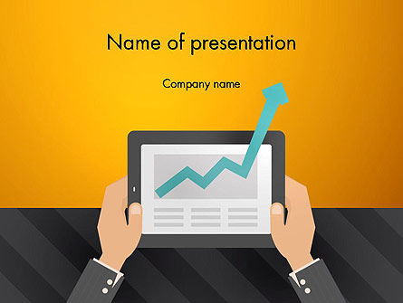 Business Growth PowerPoint Template, 13012, Business — PoweredTemplate.com