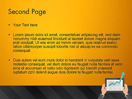 Business Growth PowerPoint Template, Slide 2, 13012, Business — PoweredTemplate.com