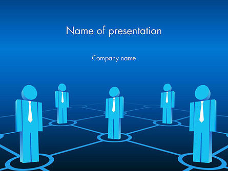 Business and Personal Connections PowerPoint Template