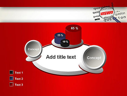 Answer to Questions PowerPoint Template Slide 16
