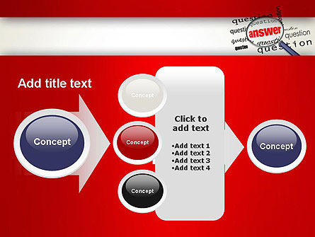 Answer to Questions PowerPoint Template Slide 17