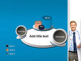 Smiling Physician PowerPoint Template#16