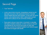 Smiling Physician PowerPoint Template#2
