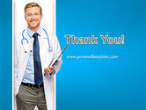 Smiling Physician PowerPoint Template#20