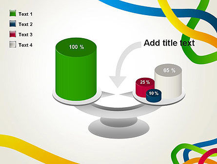 Colored Paths PowerPoint Template Slide 10