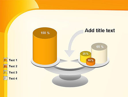 Yellow Arc PowerPoint Template Slide 10