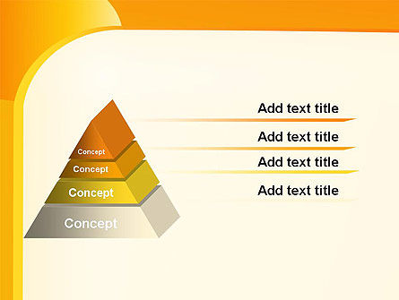 Yellow Arc PowerPoint Template Slide 12