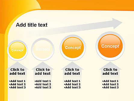 Yellow Arc PowerPoint Template Slide 13