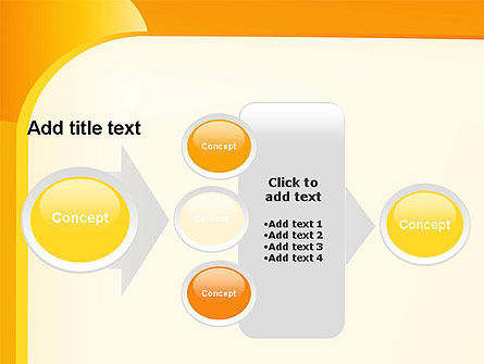 Yellow Arc PowerPoint Template Slide 17