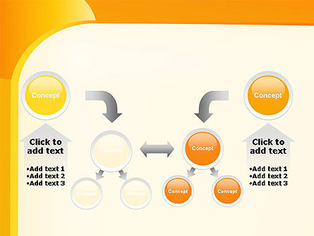 Yellow Arc PowerPoint Template Slide 19