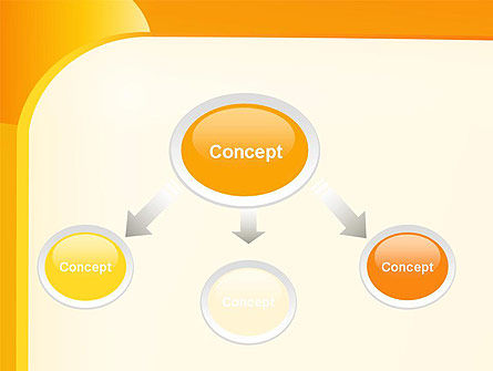 Yellow Arc PowerPoint Template Slide 4