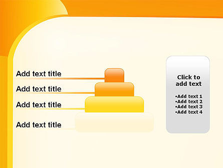 Yellow Arc PowerPoint Template Slide 8