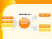 Yellow Arc PowerPoint Template#14