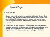 Yellow Arc PowerPoint Template#2