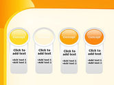 Yellow Arc PowerPoint Template#5