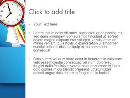 Schools Stationery PowerPoint Template, Slide 3, 13024, Education & Training — PoweredTemplate.com