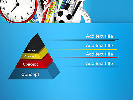 Schools Stationery PowerPoint Template Slide 12