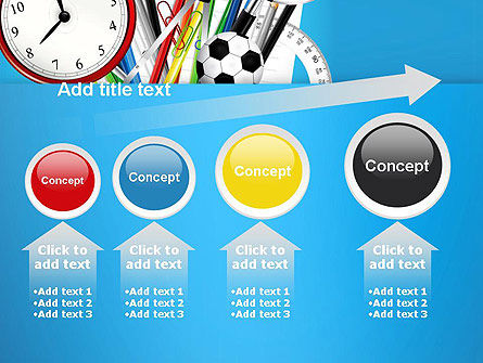 Schools Stationery PowerPoint Template Slide 13