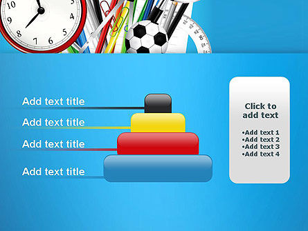 Schools Stationery PowerPoint Template Slide 8