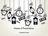 Consulting: 浮遊時間 - PowerPointテンプレート #13028