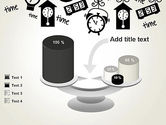 Floating Hours PowerPoint Template#10