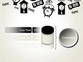 Floating Hours PowerPoint Template#11
