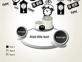 Floating Hours PowerPoint Template#16