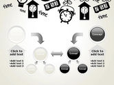 Floating Hours PowerPoint Template#19