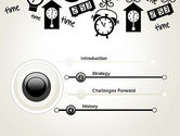 Floating Hours PowerPoint Template#3