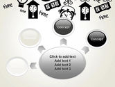 Floating Hours PowerPoint Template#7